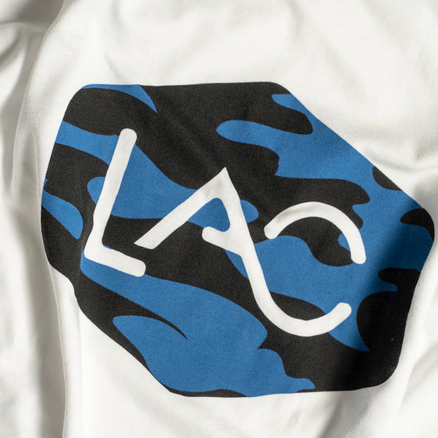 MEN'S LAC BLUE CAMO BADGE LOGO