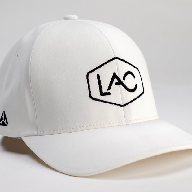 LAC CORE LOGO FLEXFIT DELTA HAT