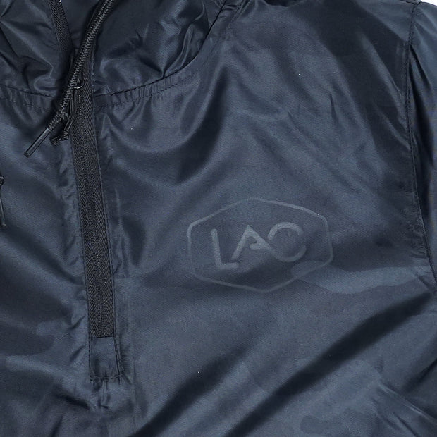 LAC LADIES CAMO QUARTER-ZIP PULLOVER CROP