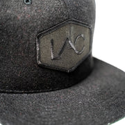 BLACK LAC PATCH SNAPBACK HAT