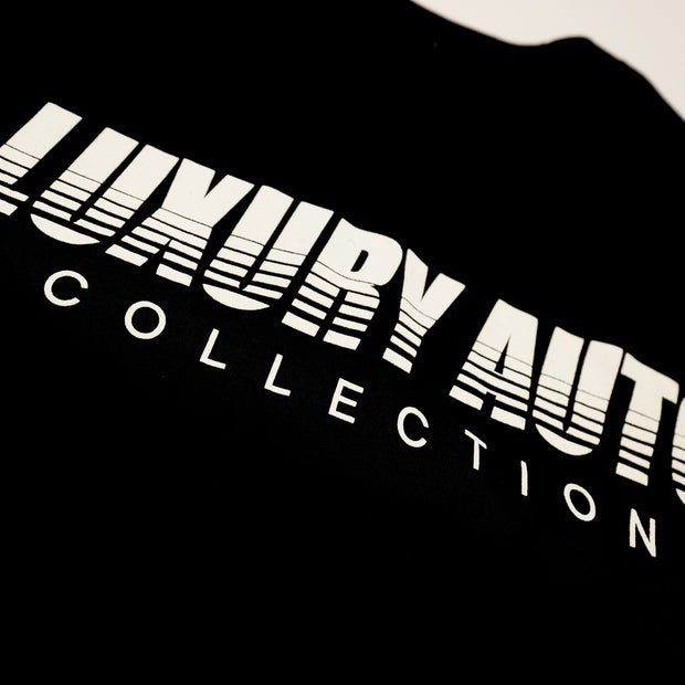 LUXURY AUTO COLLECTION STRIPED LOGO