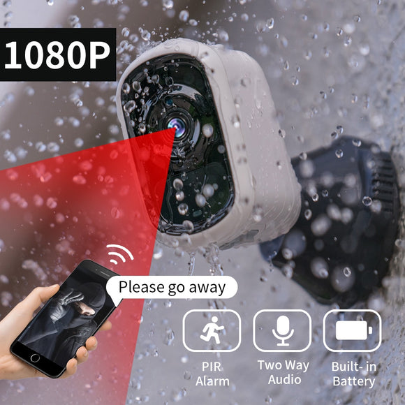 SDETER 1080P Rechargeable Battery Camera IP Wifi Camera Outdoor Indoor Weatherproof CCTV Security Camera Night Vision Audio P2P