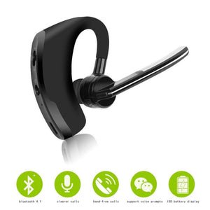 Original Business Bluetooth headset Noise Cancelling Voice Control Wireless Headphone Driver Sport Earphone for iPhone Android
