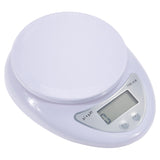 Anpro 5kg/1g 1kg/0.1g Portable Digital Scale LED Electronic Scales Postal Food Measuring Weight Kitchen LED Electronic Scales