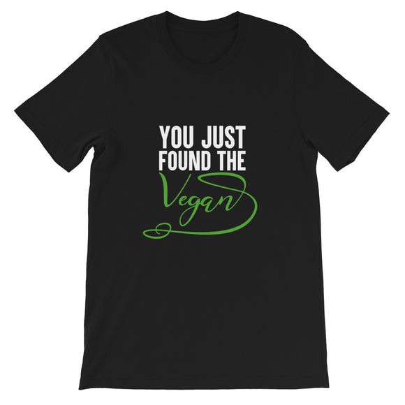 You Just Found the Vegan T-shirt