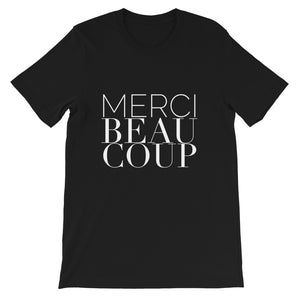 Merci Beaucoup, French, Language, Francais, Learn, Teacher, Travel, Europe, France, Gift, T-shirt
