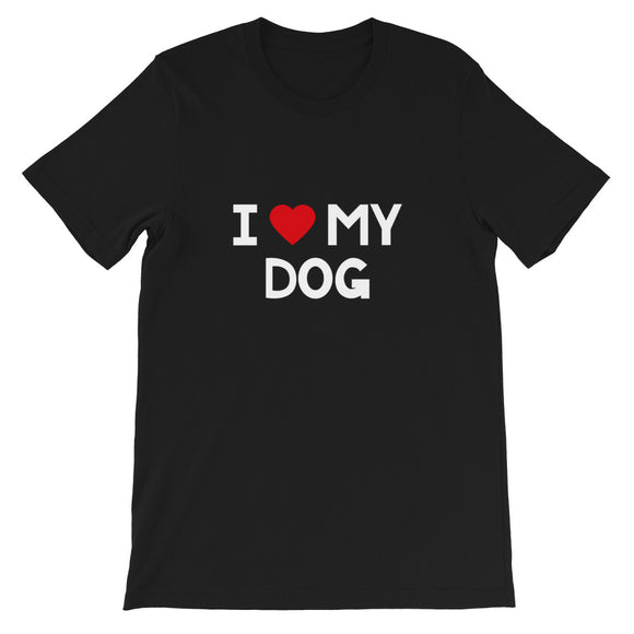 I Love My Dog, Funny, Dogs, Breeder, Adoption, Doggie, Puppy, Pets, Animal Lover, Gift, T-shirt
