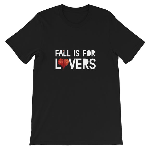 Fall is for Lovers, Romnatic, Leaves, Funny, Autumn, Fall Season, Halloween, Meme, Gift, T-shirt