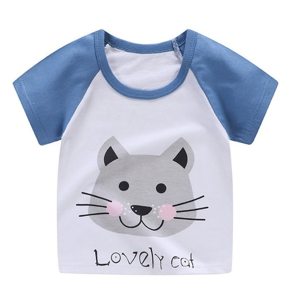 Casual Tee Tops Boy Shirt