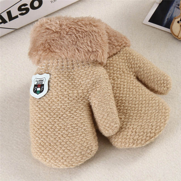 Baby Boys Girls Knitted Gloves
