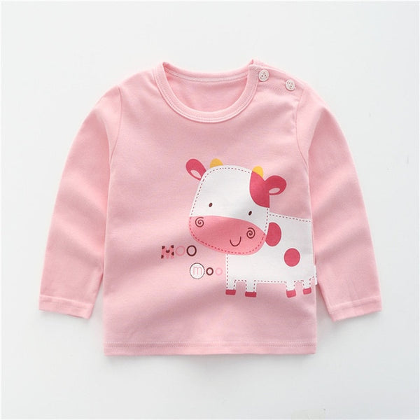 Brand Baby Girls Boys T-shirts