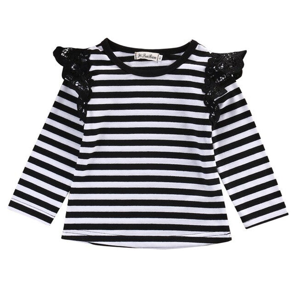 Girls Cotton Long Sleeves T-Shirts