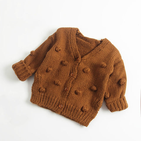 Boy Girl Clothes Knitwear Coat