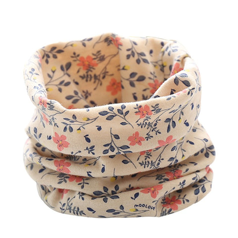 Spring Autumn Children Cotton Scarf