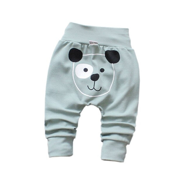 Printing Cotton Trousers Kids Pants
