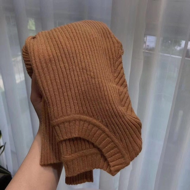 Baby Girl Kids Ribbed Sweater
