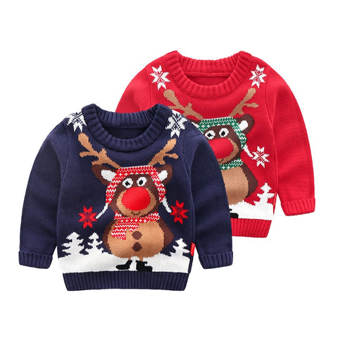 Knitted Baby Clothes Boys Sweaters