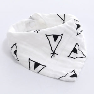 Cloth Triangle Cotton Baby Scarf