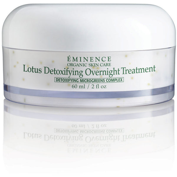 Eminence Organic Skin Care Lotus Detoxifying Overnight Treatment