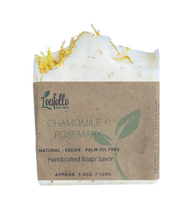 Chamomile + Rosemary Soap Bar