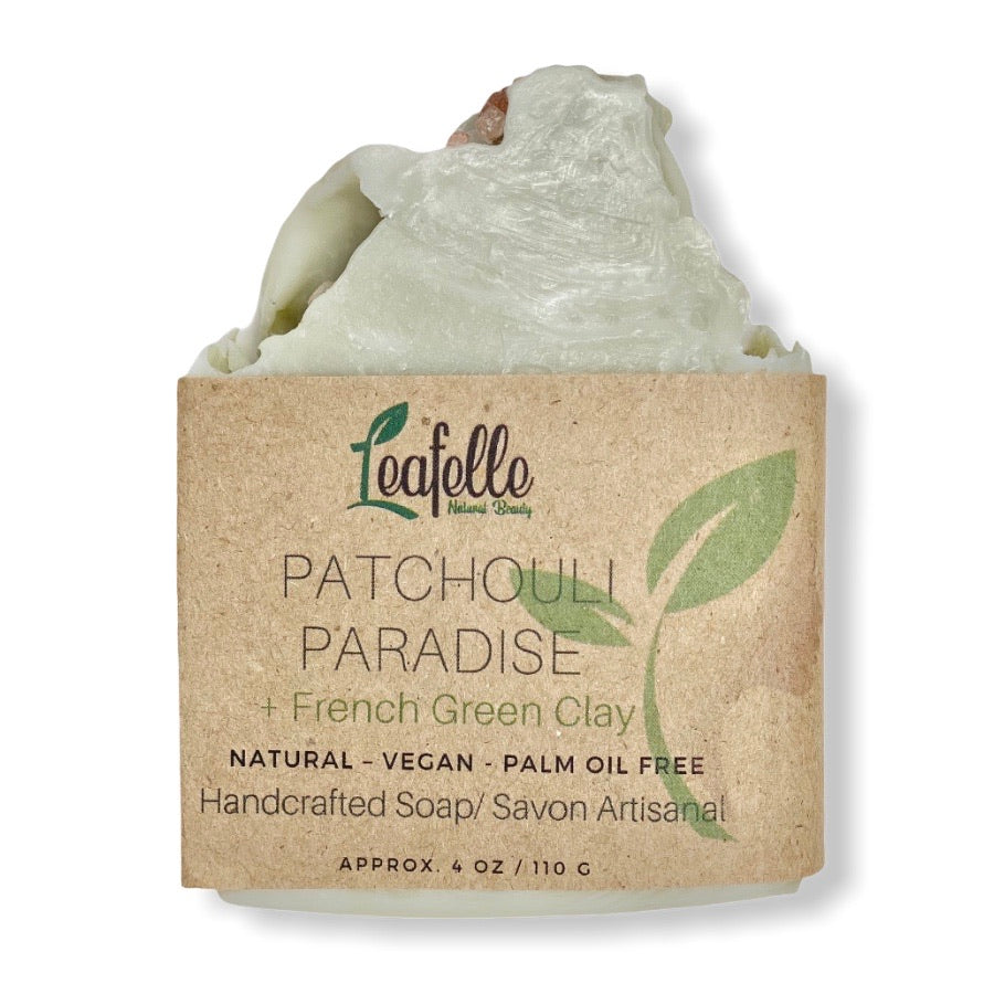 Patchouli Paradise + French Green Clay Soap Bar