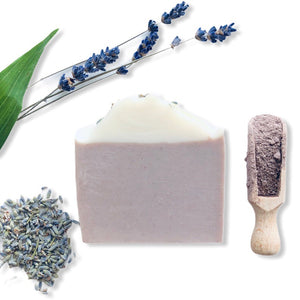 Lavender Soap Bar with Brazilian Purple Clay