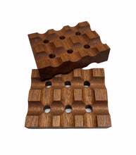 Load image into Gallery viewer, Sapele Mahogany Soap Dish