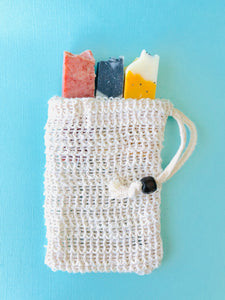 Exfoliating Soap Bag