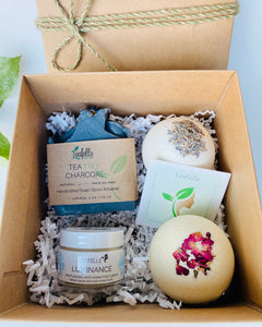 Gift Set #2:  1 Soap, 1 Face Cream, 2 Bath Bombs