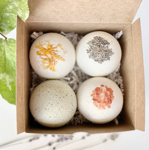 4 Bath Bombs Set