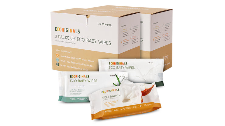 6 Packs of Wipes