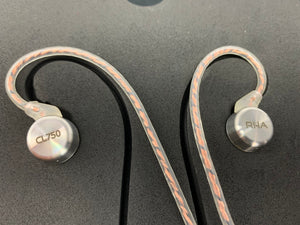 RHA CL750 PRECISON IN-EAR HEADPHONE