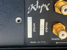Load image into Gallery viewer, KLYNE AUDIO ARTS 6LX PREAMP W/PHONO & XPS REMOTE POWER SUPPLY