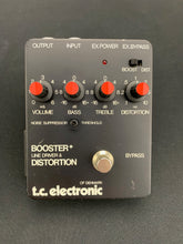 Load image into Gallery viewer, T.C. ELECTRONIC BOOSTER + LINE DRIVER & DISTORTION BOX
