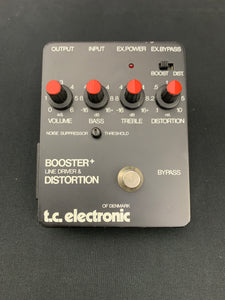 T.C. ELECTRONIC BOOSTER + LINE DRIVER & DISTORTION BOX