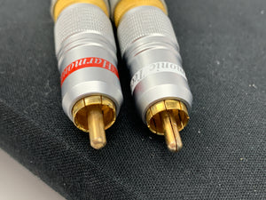HARMONIC TECH PRO SILWAY II RCA CABLES 1 METER