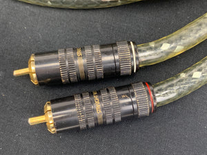 STRAIGHTWIRE VIRTUOSO RCA INTERCONNECTS 5 FOOT PAIR