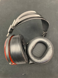 AUDEZE LCD-4 CHROME W/CUSTOM RINGS IN PADUK WOOD W/CASE