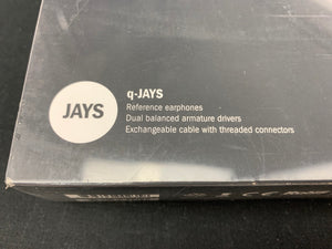 JAYS Q-JAYS REFERENCE EARPHONES
