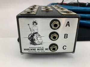 "WHIRLWIND MEDUSA 50FT 19 CHANNEL BOX TO FANOUT SNAKE W/ 16 XLR AND 3, 1/4"" JACKS"