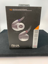Load image into Gallery viewer, RHA T10 SILVER IN EAR HEADPHONES