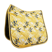 Load image into Gallery viewer, HKM Lauria Garelli Sole Mio Saddle Pad Yellow