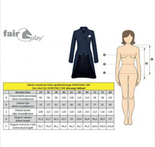 Load image into Gallery viewer, Fair Play Dorothee Comfimesh Dressage Tail Coat