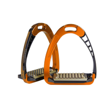 Load image into Gallery viewer, Acavallo Alupro Safety Stirrups