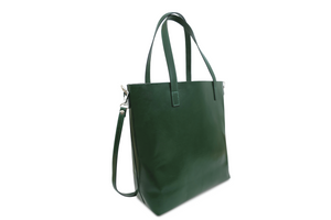 Handmade Leather Tote. Made in Italy.