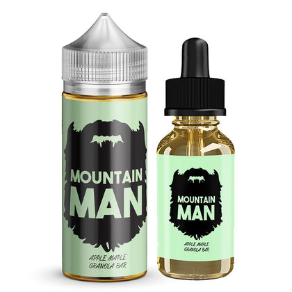 Mountain Man E-Liquid - Apple Maple Granola - 60ML/100ML - Dairy Drip Wholesale