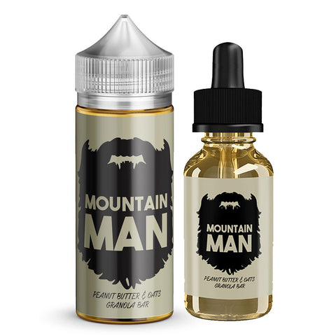 Mountain Man E-Liquid - Peanut Butter Granola - 60ML/100ML - Dairy Drip Wholesale