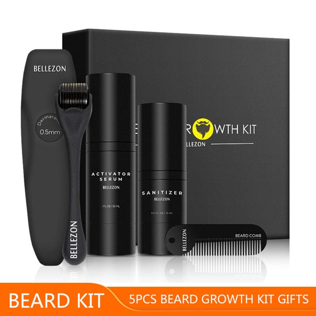 The ShipShaper Beard Growth Kit - 4 Piece Set - TheShipShaper