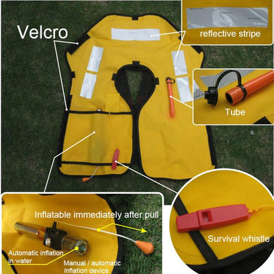 Automatic Inflatable Life Jacket!😃
