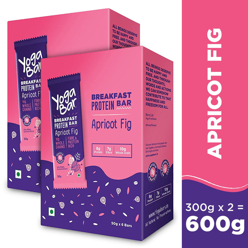 Apricot Fig Breakfast Bars - 2 Boxes